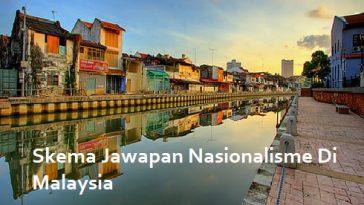 Skema Jawapan Nasionalisme Di Malaysia