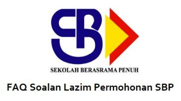 Soalan Lazim Permohonan SBP