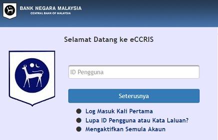 Semakan Ccris Online Melalui Eccris