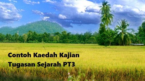 Contoh Kaedah Kajian Tugasan Sejarah Pt3 2018
